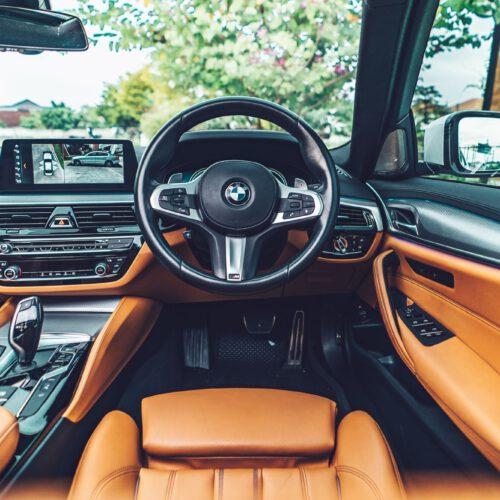ภายในของ BMW 530e M Sport รุ่นท้อป