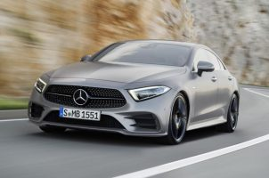 This is the new Mercedes-Benz CLS