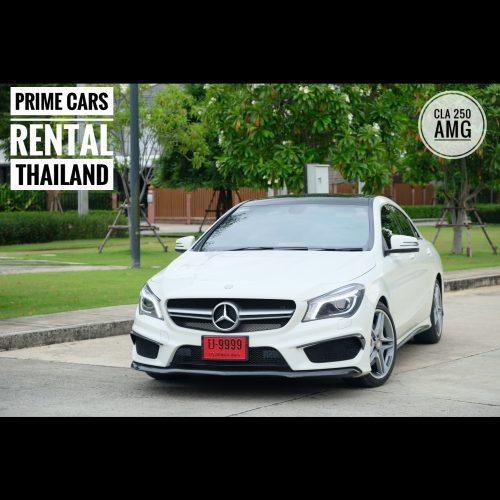 เช่ารถหรู เช่ารถสปอร์ต เช่ารถ Supercar Mercedes Benz CLA 250 AMG