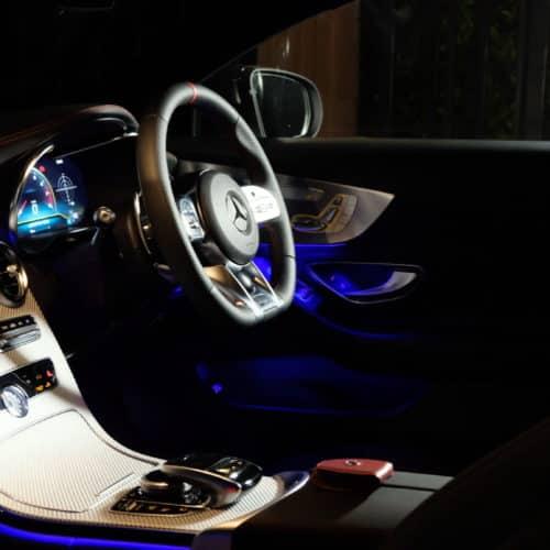เช่ารถหรู เช่ารถสปอร์ต เช่ารถ Supercars Mercedes AMG C43 Coupe