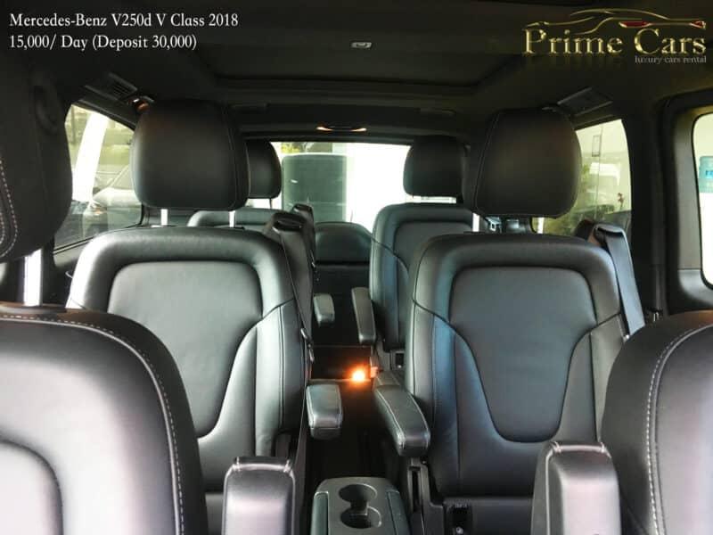 เช่ารถหรู เช่ารถสปอร์ต เช่ารถ Supercars BENZ V CLASS VITO