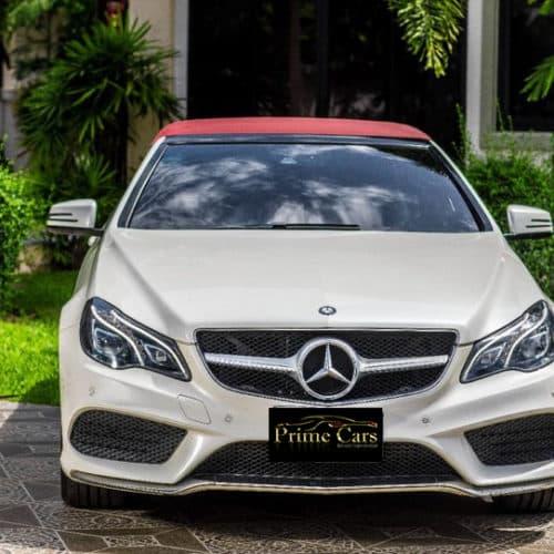 เช่ารถหรู เช่ารถสปอร์ต เช่ารถ Supercars Benz E Class Cabriolet