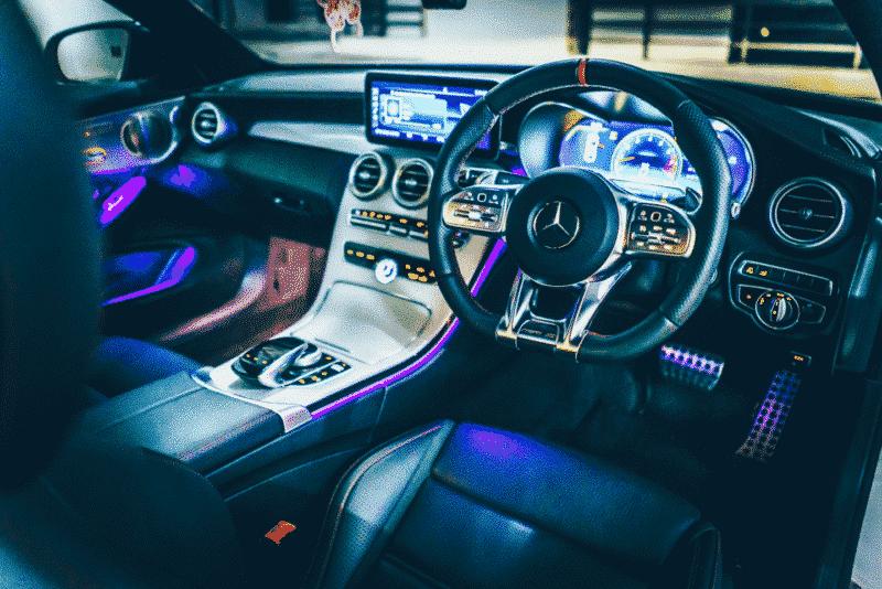 ภายในของรถเบนซ์ C 43 Coupe