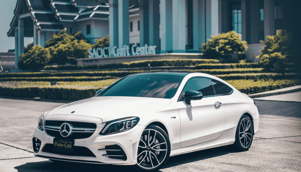 Mercedes AMG C 43 Coupe Facelift