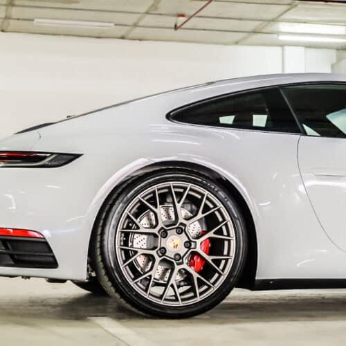 Porsche 911 Carrera S 992 ล้อ RS Spyder แบบใหม่