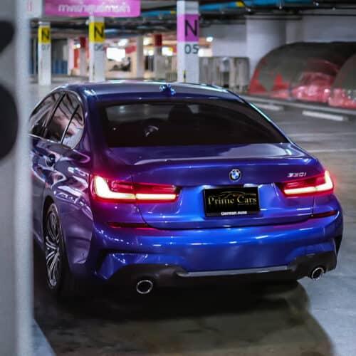 เช่ารถ BMW Series 3 330i M Sport G20 กับ Prime Cars Rental