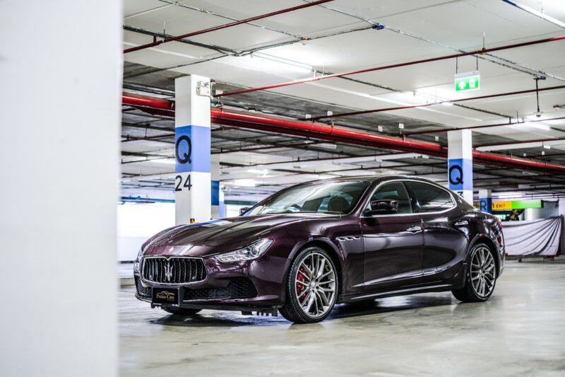 Maserati Ghibli ใ้หเช่าขับเอง