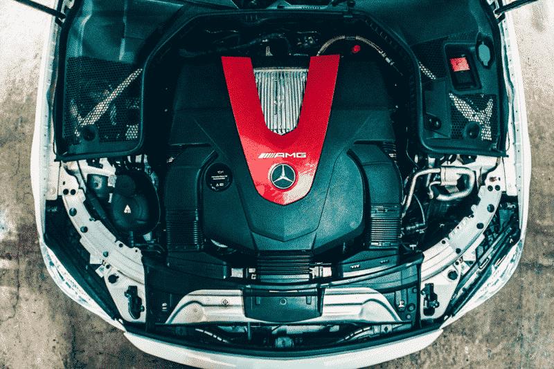เครื่องยนต์ 3.0 ลิตร V6 ของ AMG C43 Coupe