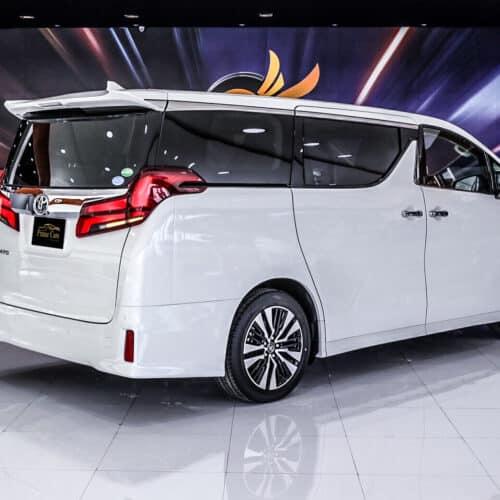 Toyota Alphard Hire
