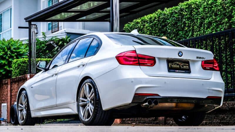 BMW Series 3 F30 ชุดท่อ M Performance