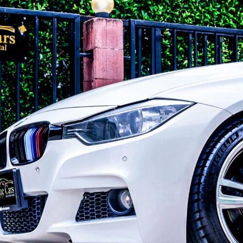 BMW Series 3 F30 ชุดแต่ง M Sport