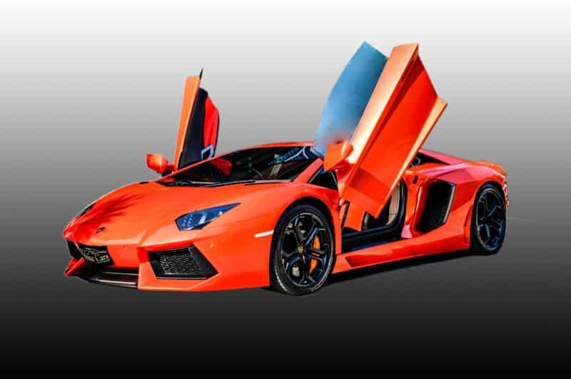 เช่ารถ Lamborghini Aventador ขับเอง