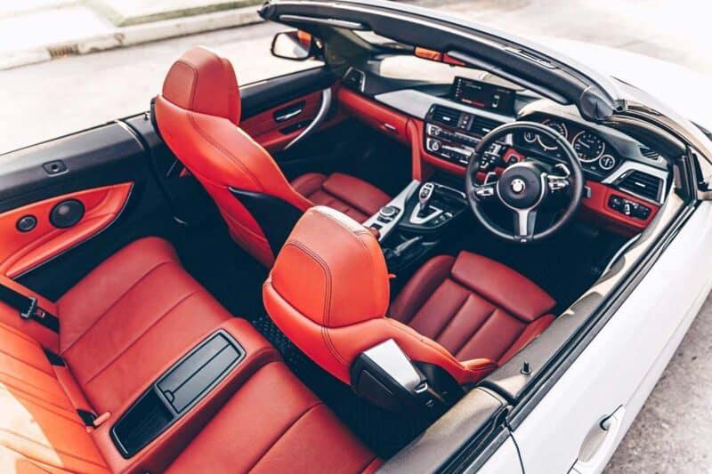 รถสปอร์ตผู้หญิง BMW 4 Series Convertible