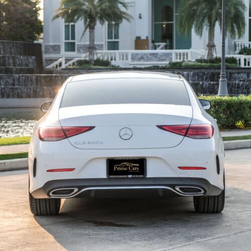 Benz CLS รุ่นใหม่ ด้านท้ายสวยมาก
