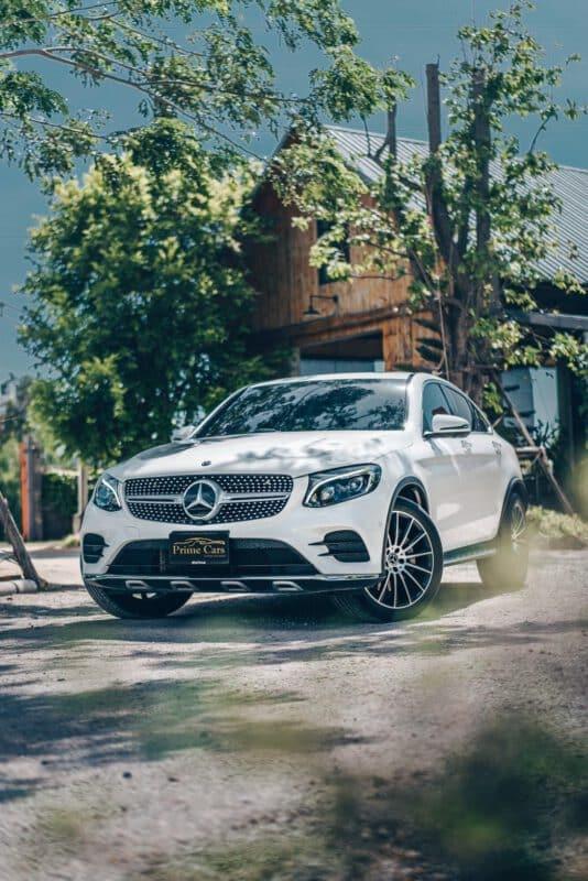 เช่ารถหรู SUV Mercedes Benz GLC Coupe AMG
