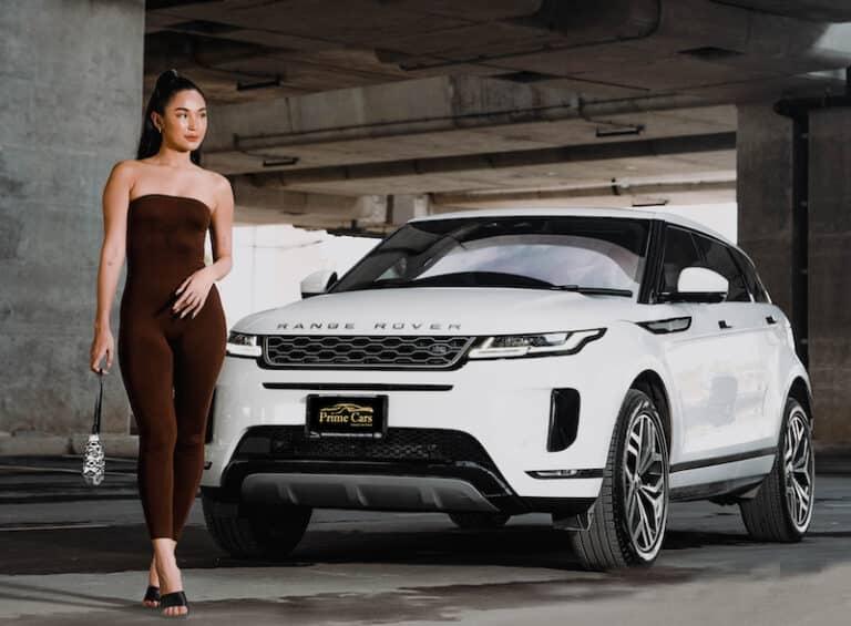 เช่ารถหรู Range Rover Evoque