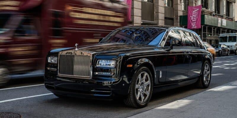 รถหรูตัวท็อป-Rolls Royce Phantom