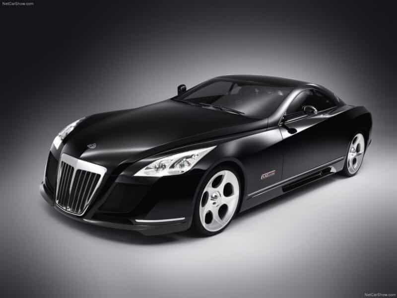 รถยนต์หรูราคาแพง Mercedes-Maybach Exelero