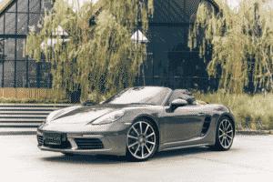รถยนต์หรูดีไซน์กะทัดรัด-Porsche 718 Boxster