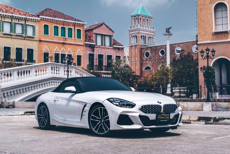 รถยนต์ Roadster BMW Z4
