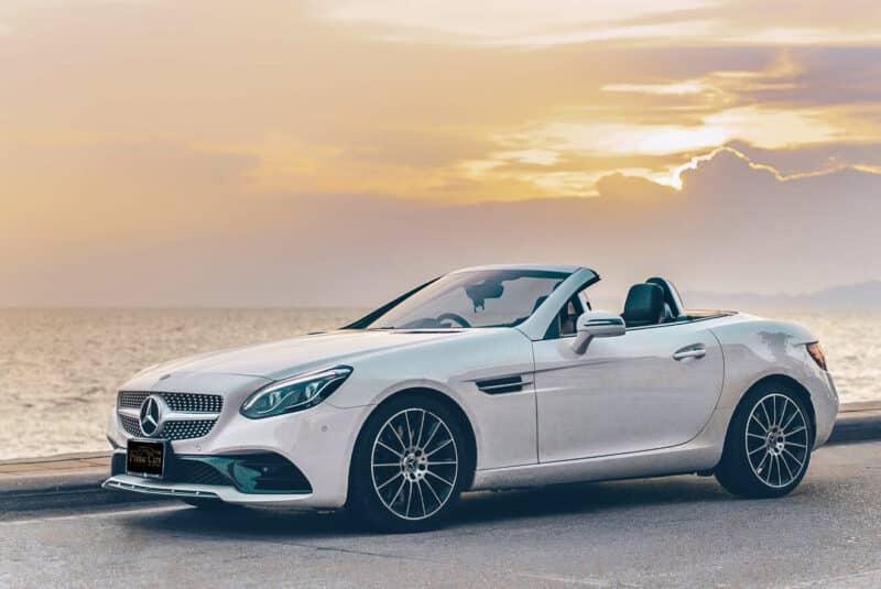 รถยนต์ Roadster Mercedes-Benz SLC 300 AMG