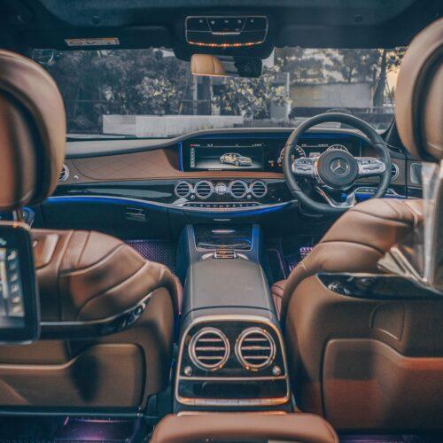 งานออกแบบของ Mercedes-Benz S Class 2021 เช่าขับเอง