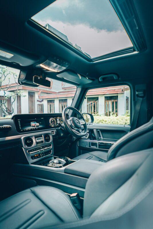 ภายในของ Mercedes Benz G350d AMG