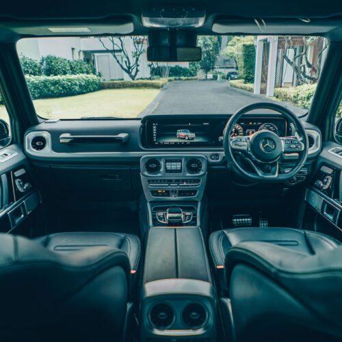 ภายในของ Mercedes-Benz G Wagon