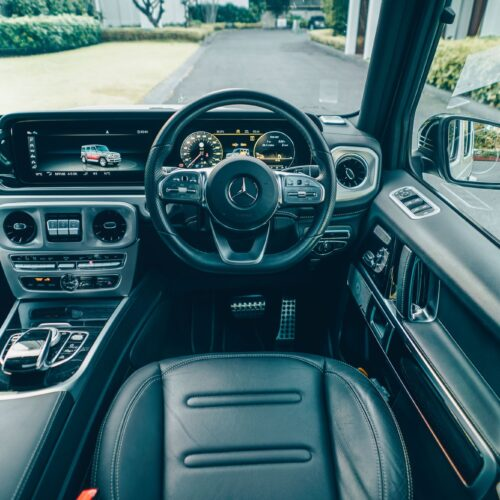 Cockpit ของ Mercedes Benz G350d AMG