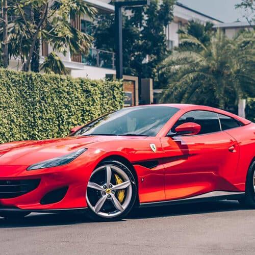 เช่ารถซุปเปอร์คาร์ Ferrari Portofino