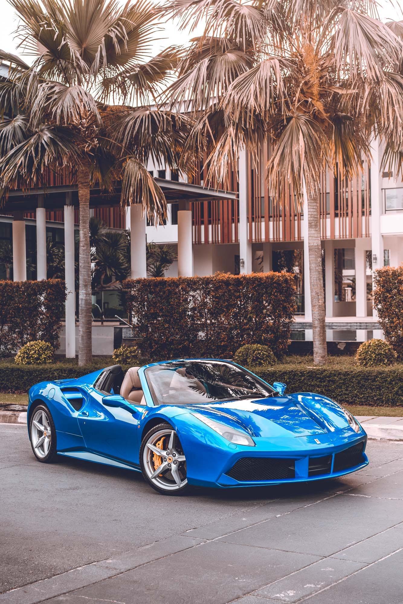 เช่า Ferrari 488 Spider