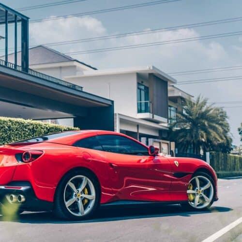 เช่ารถหรู Ferrari Portofino