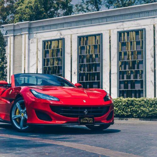 Front view of Ferrari Portofino