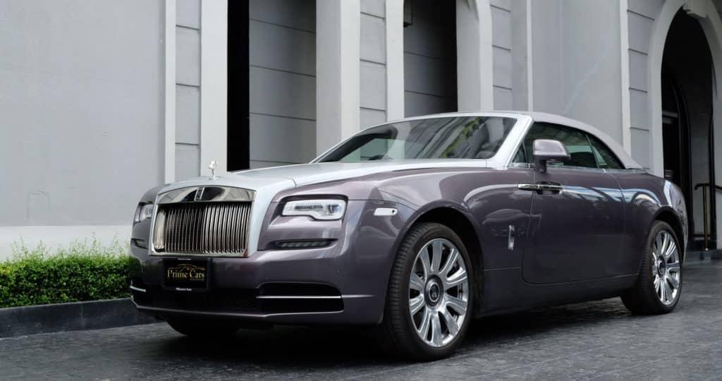รถ Rolls Royce Dawn
