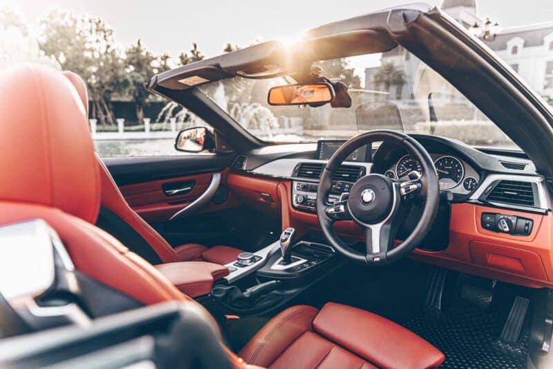 ภายใน BMW 430i