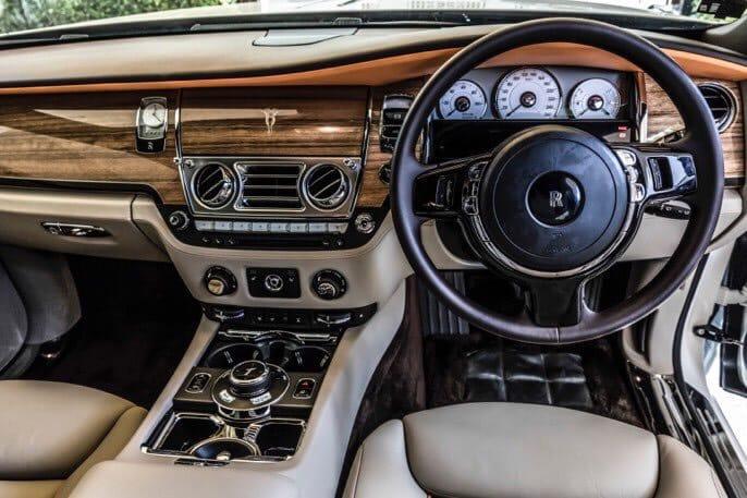 ภายใน Rolls Royce Ghost