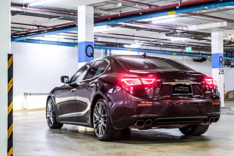 รถยุโรปสุดหรู Maserati Ghibli