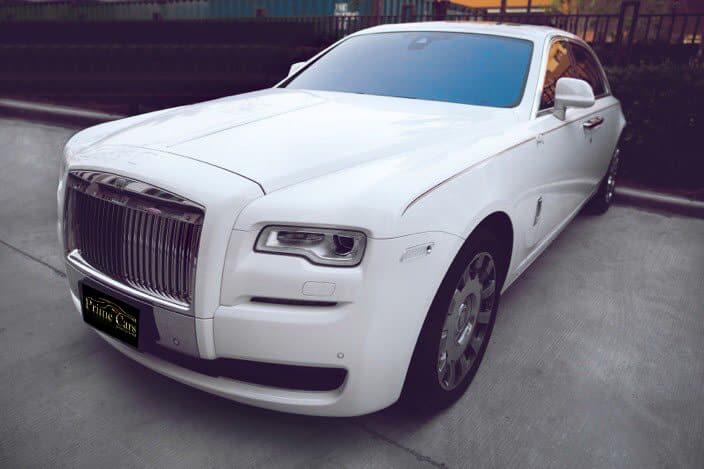เช่ารถแต่งงาน Rolls Royce Ghost