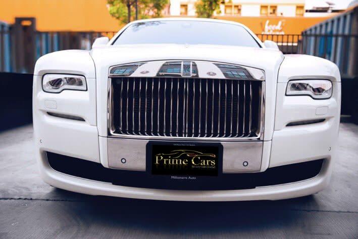 รถยุโรปสุดหรู Rolls Royce Ghost