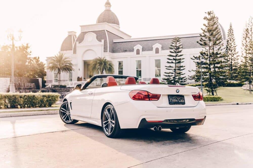 เช่ารถ BMW 430i Convertible