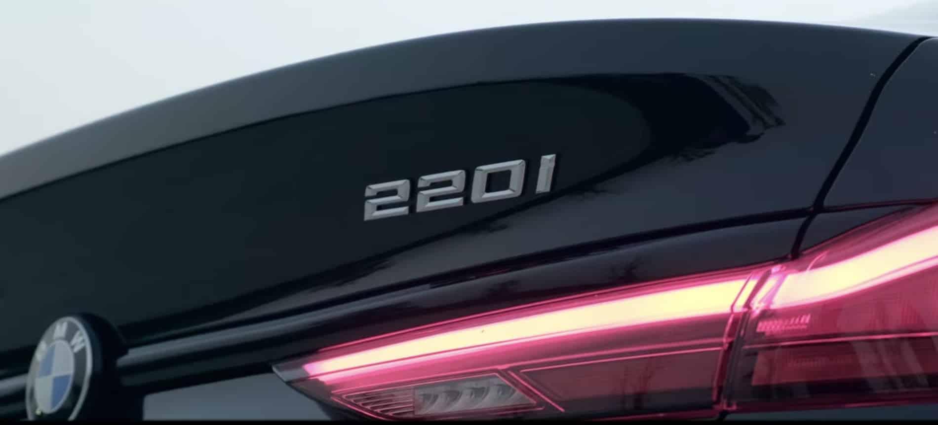 รหัสรุ่นของ BMW