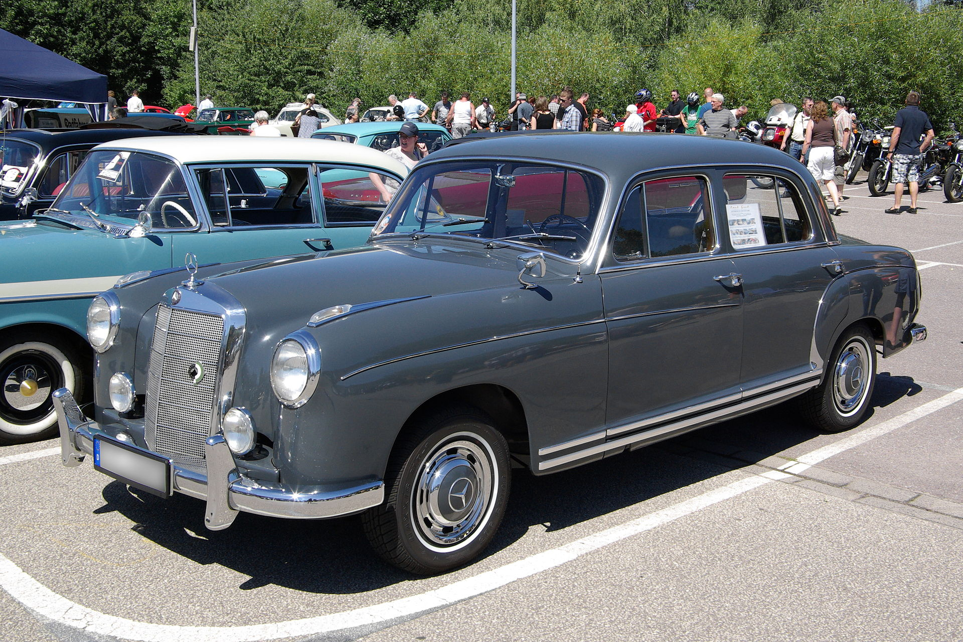 Mercedes-Benz W 180 By Berthold Werner