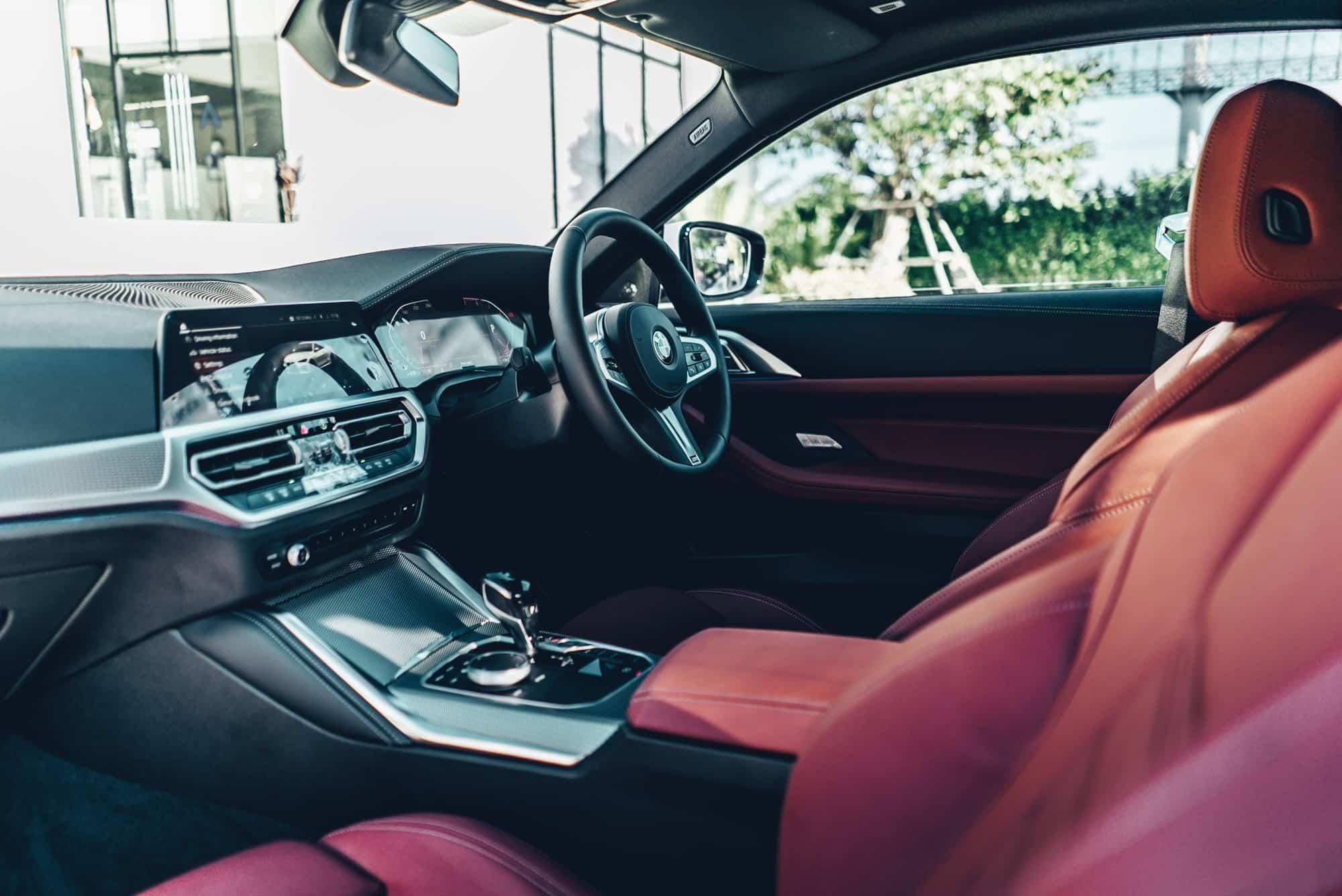ภายในของ BMW 430i M Sport G22