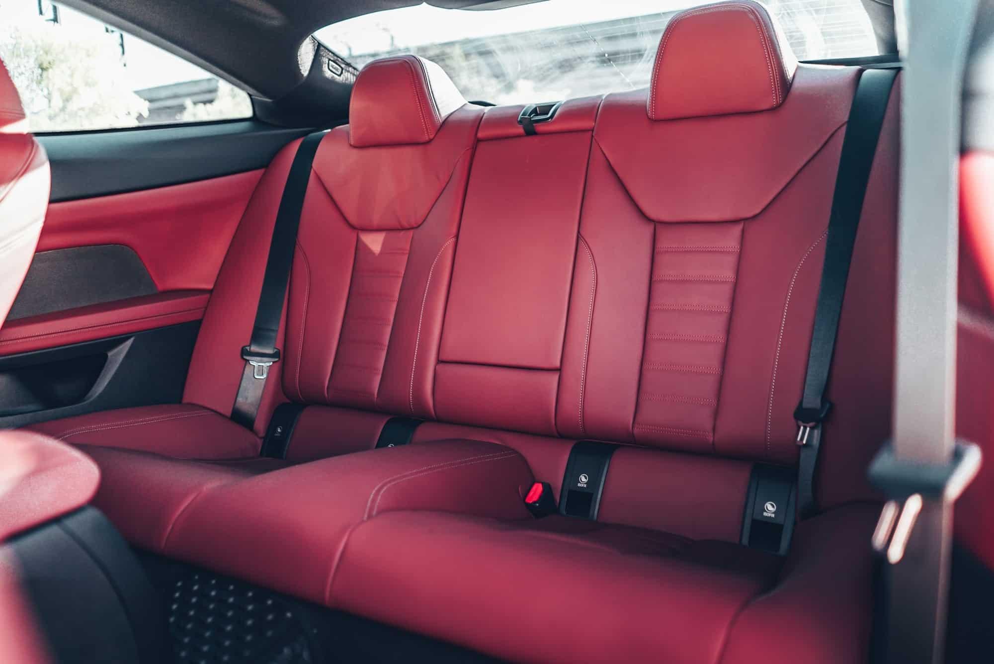 เบาะหลัง BMW Series 4 G22