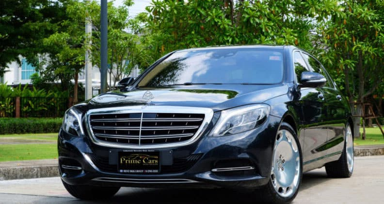 Mercedes Maybach S 500e Front