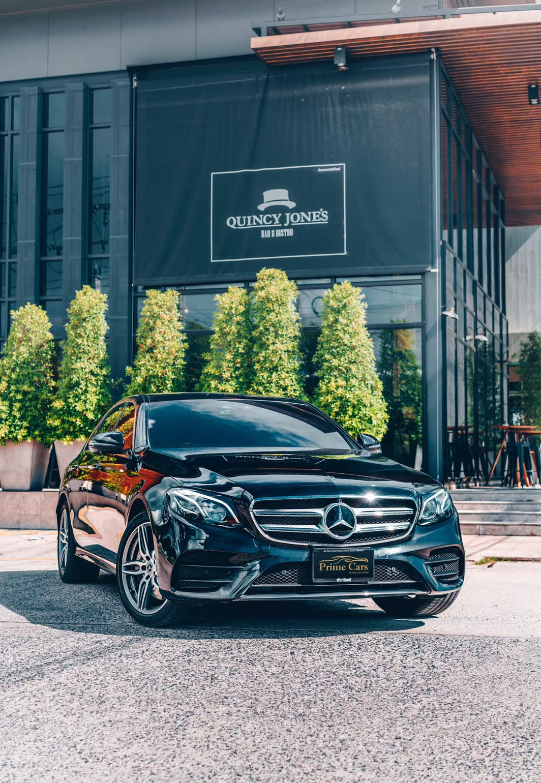 เช่ารถเบนซ์ ราคา ไม่แรง E350e Plug-in Hybrid AMG