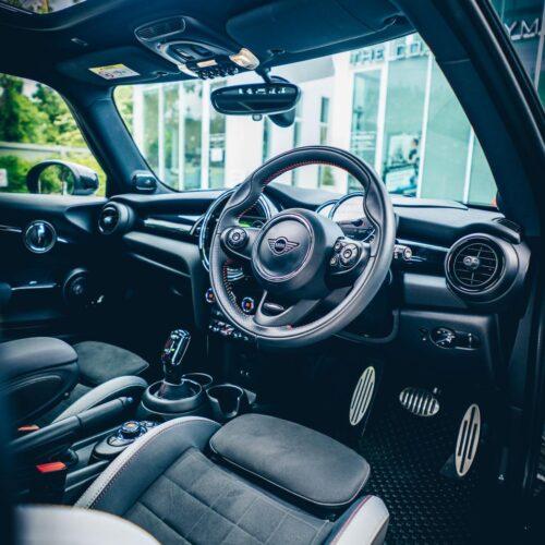 Rent a Mini Cooper S JCW Interior