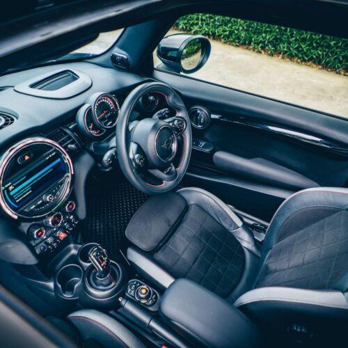 Mini Cooper S JCW Interior from sunroof
