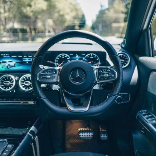 มุมมองคนขับ Mercedes Benz GLA 35