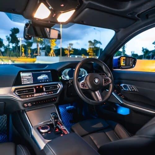 ภายใน BMW 330e M Sport